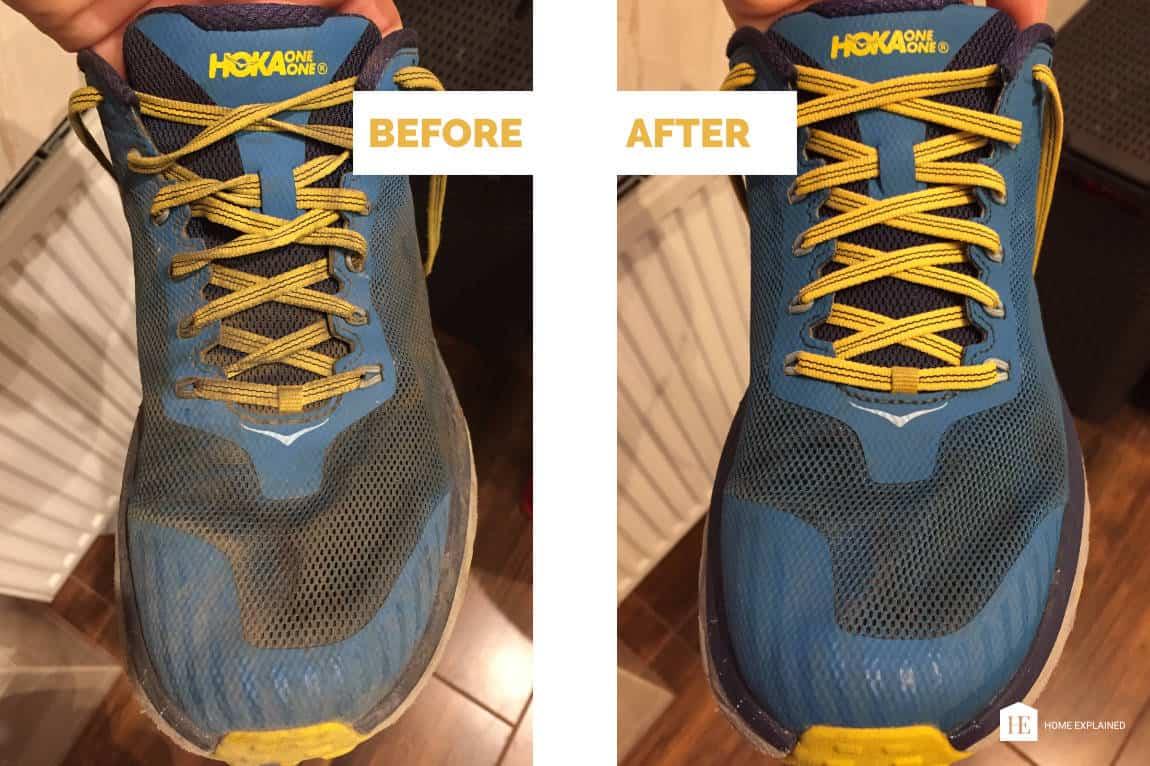 How to wash Hoka One One shoes - Home