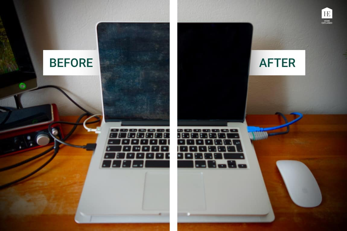 How to remove the anti-reflective coating from MacBook Pro - The best and easiest way | HomeExplained.com