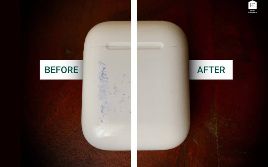 How to clean stains from AirPods case