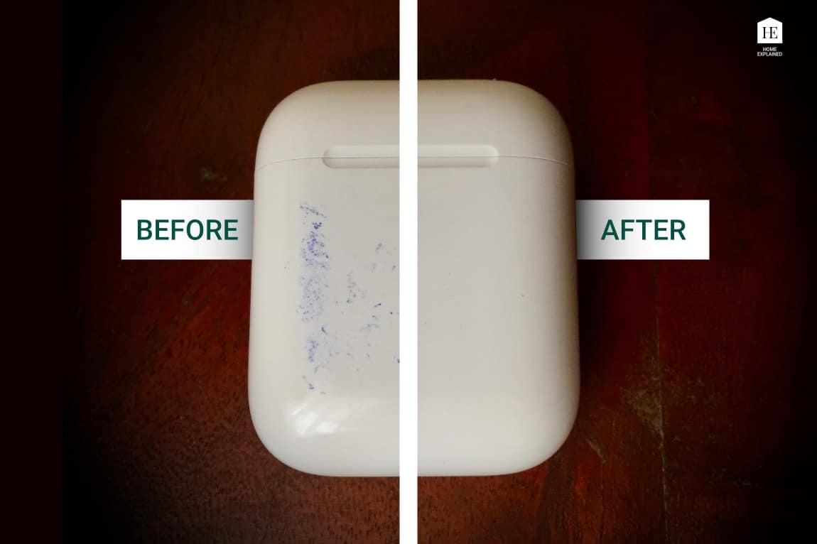 How to clean stains from AirPods case   HomeExplained.com