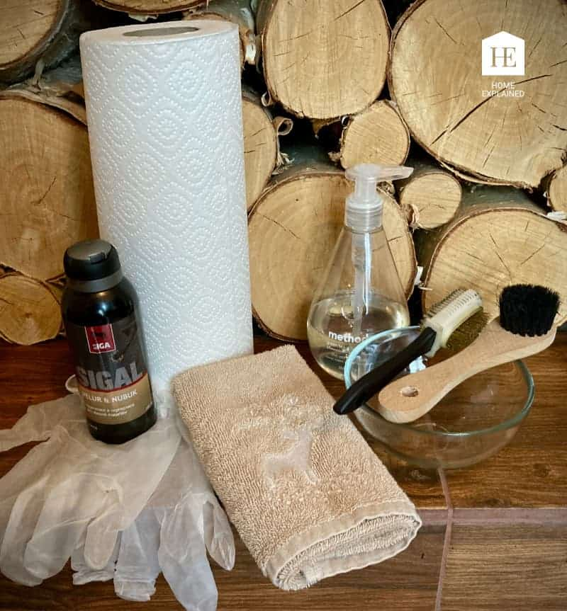 Tools to Restore Nubuck or Suede Shoes At Home