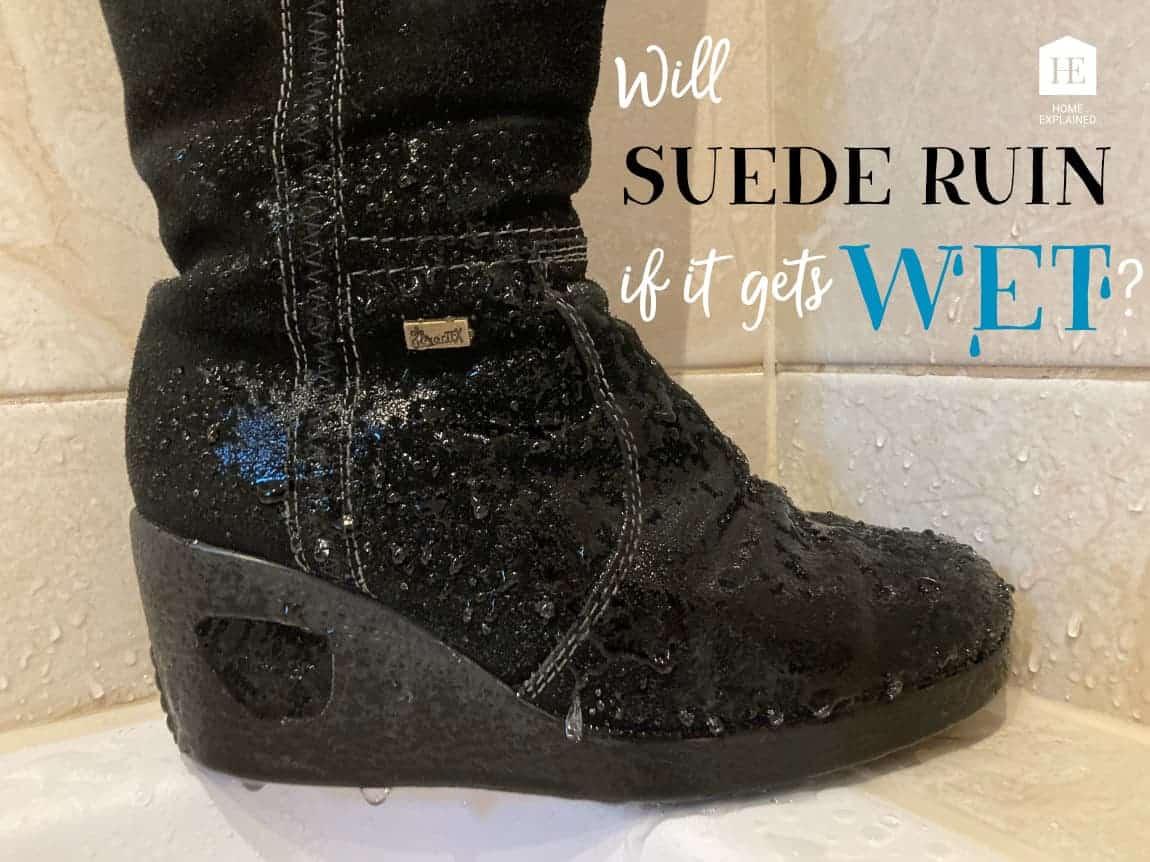 Wet Suede Winter Shoe