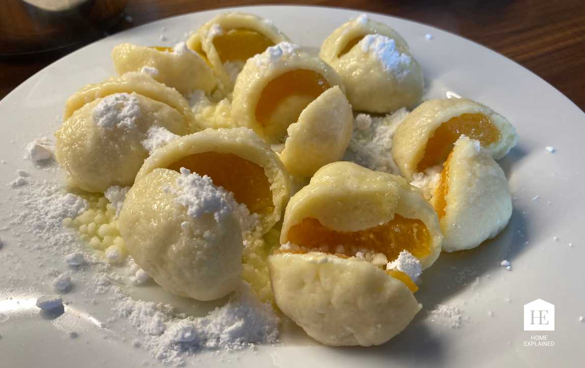 Easy and Quick Traditional Czech Fruit Dumplings | HomeExplained.com