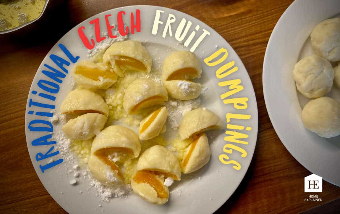 Traditional Czech Fruit Dumplings | HomeExplained.com