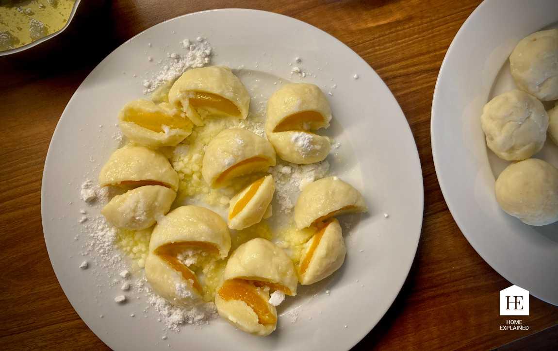 Traditional Czech Fruit Dumplings Recipe | HomeExplained.com