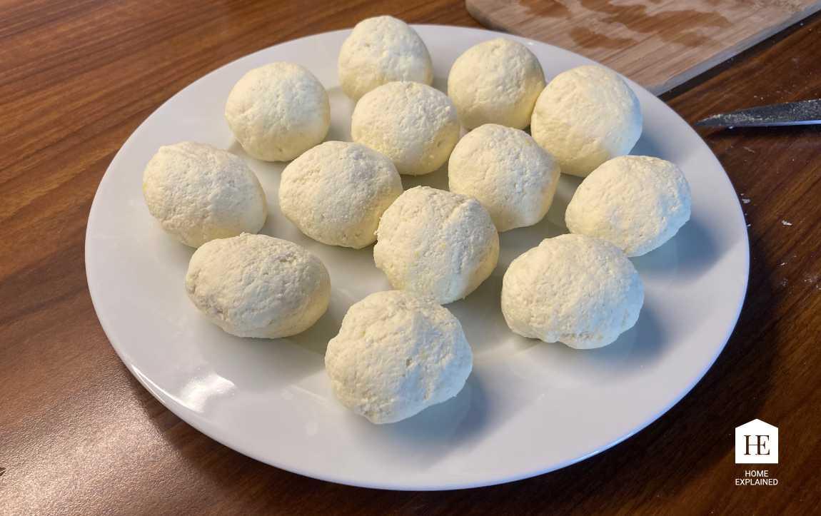 Traditional Czech Fruit Dumplings Recipe Pepared Dumplings | HomeExplained.com