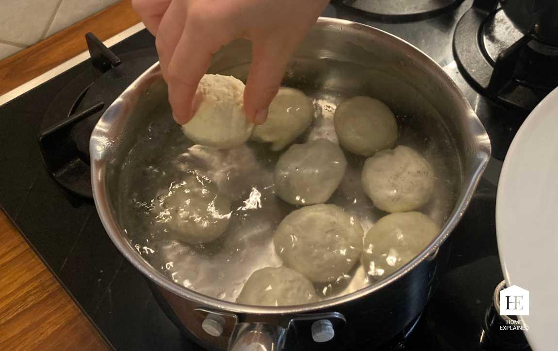 Traditional Czech Fruit Dumplings Recipe Step 6 | HomeExplained.com