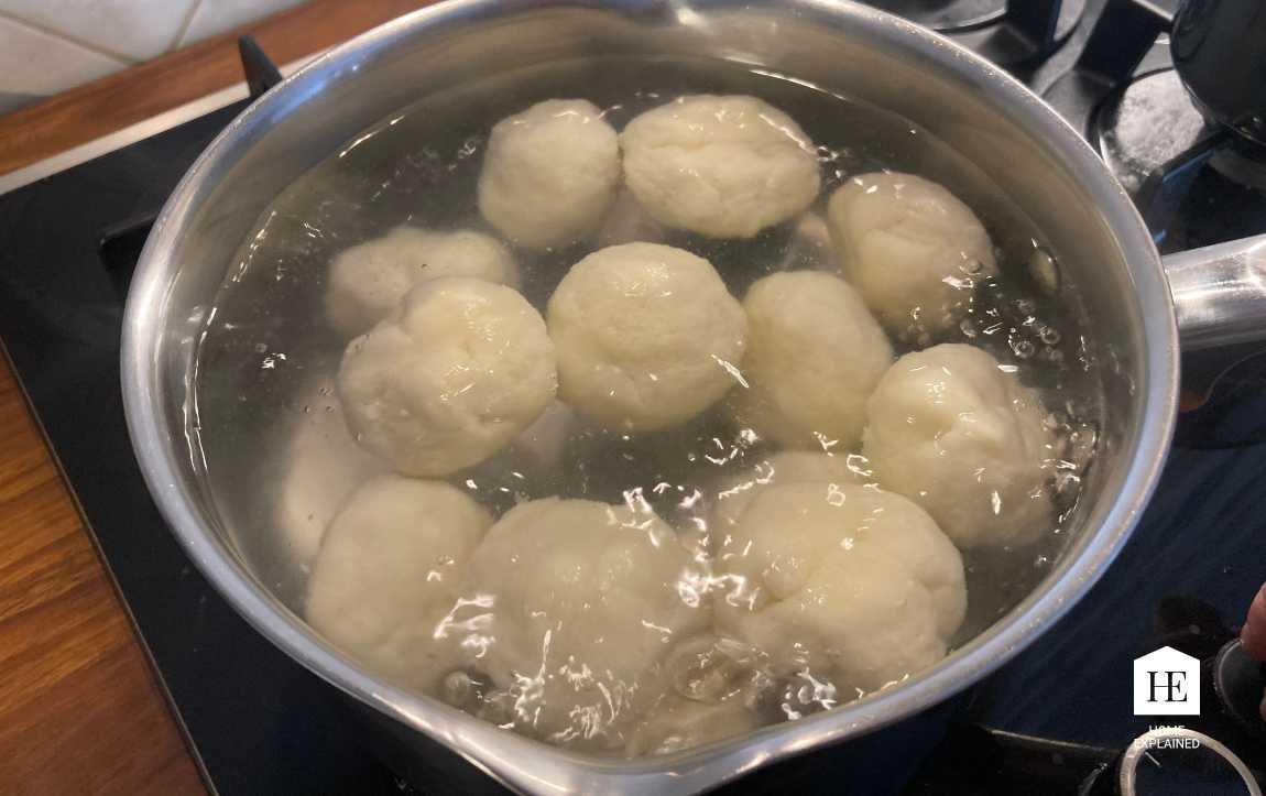 Traditional Czech Fruit Dumplings Recipe Step 6_2 | HomeExplained.com