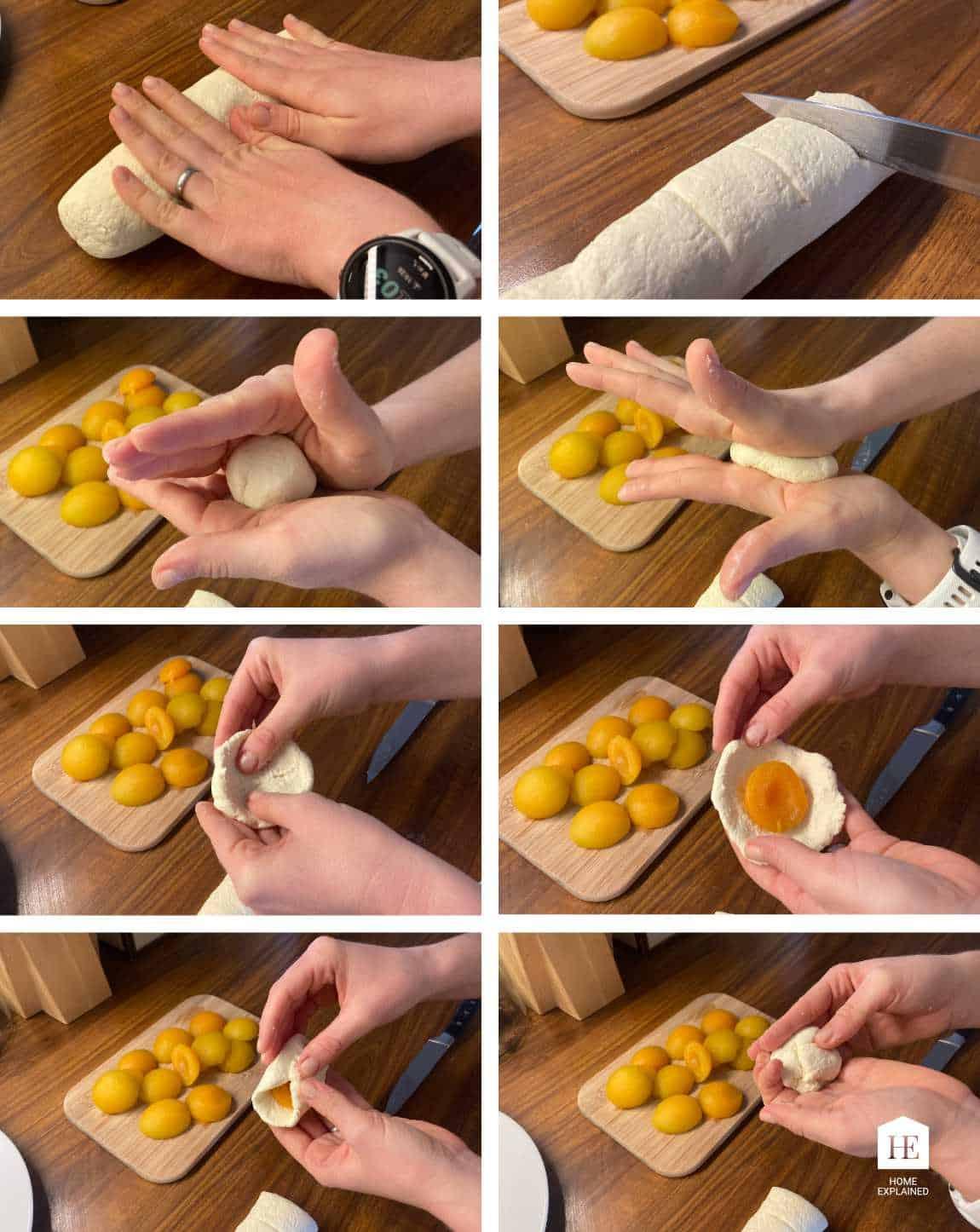 Traditional Czech Fruit Dumplings Recipe Steps | HomeExplained.com