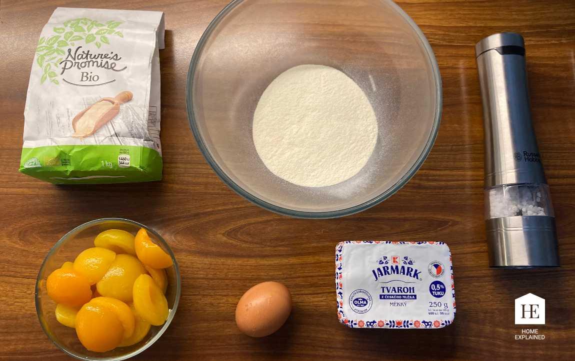 Traditional Czech Sweet Dumplings Ingredients | HomeExplained.com