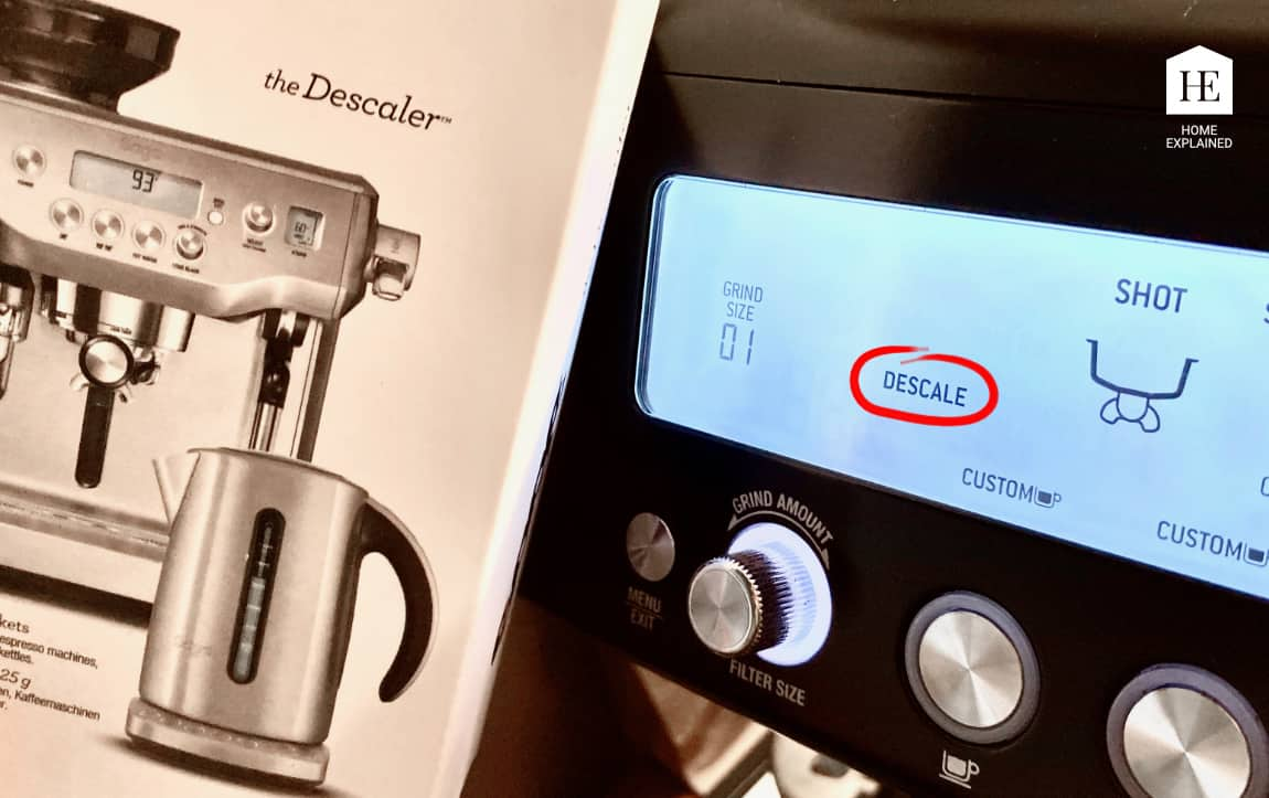 How to Descale Your Breville Barista Pro | HomeExplained