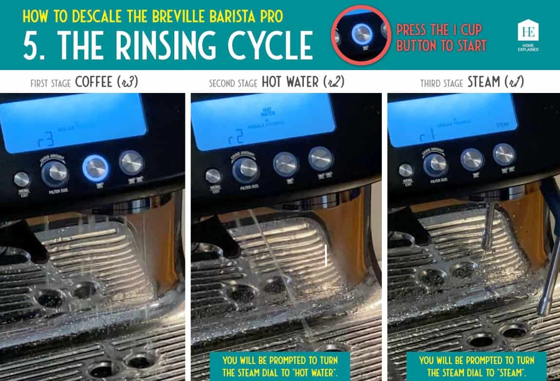 How to descale the Breville Barista Pro 5 | HomeExplained