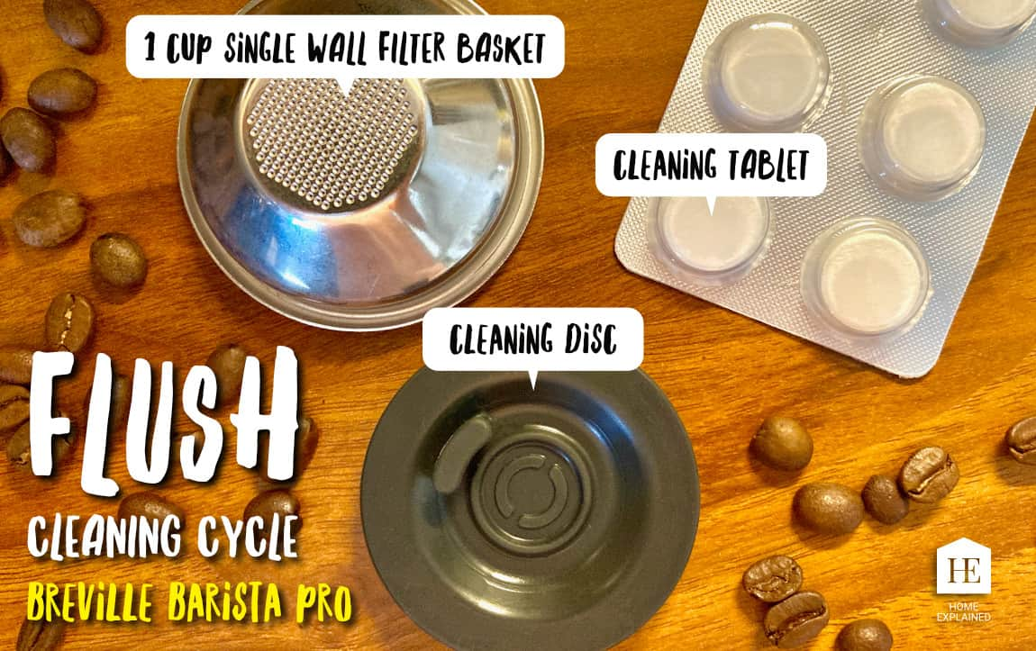 Tools to Flush a Breville Barista Pro | HomeExplained.com